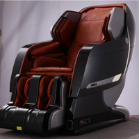 2020 Luxury 3D Zero gravity Electric shiatsu massage chair body