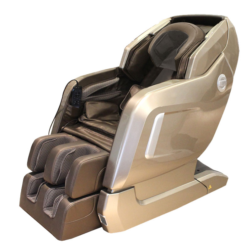 Electric Zero Gravity Full Body Shiatsu Stretched Massaging Chair with Heat