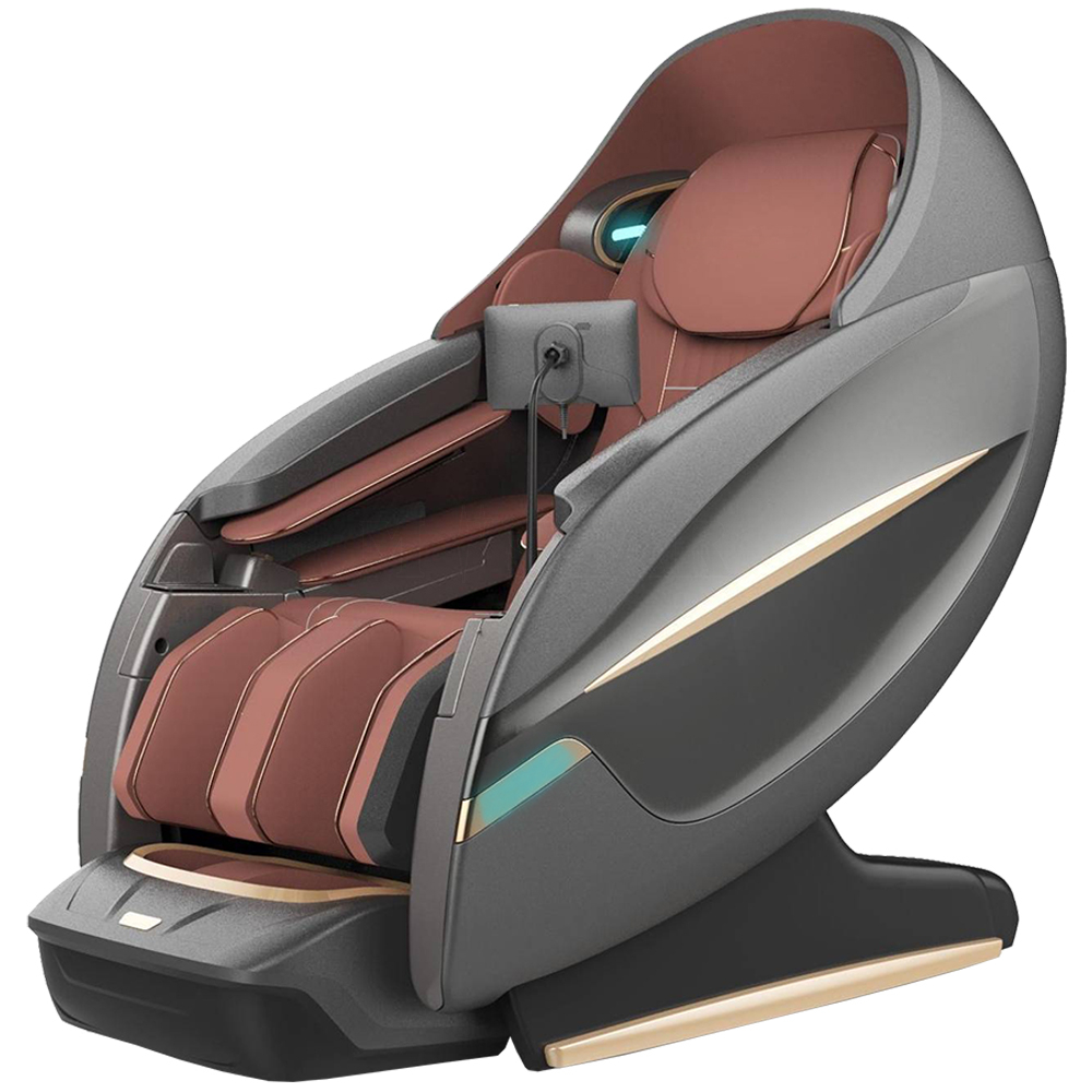 New Design 4D SL-Track Thai Stretching Zero Gravity Massage Chairs Recliner with Tapping, Heating and Foot Roller