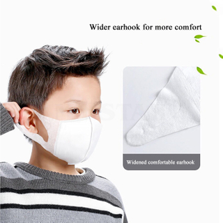 High Quality 3 Ply Children Kids Disposable Face Mask Cotton